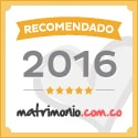Recomendado matrimonio.com.co 2016